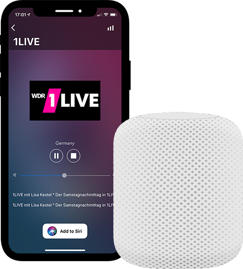 Play radio on HomePod