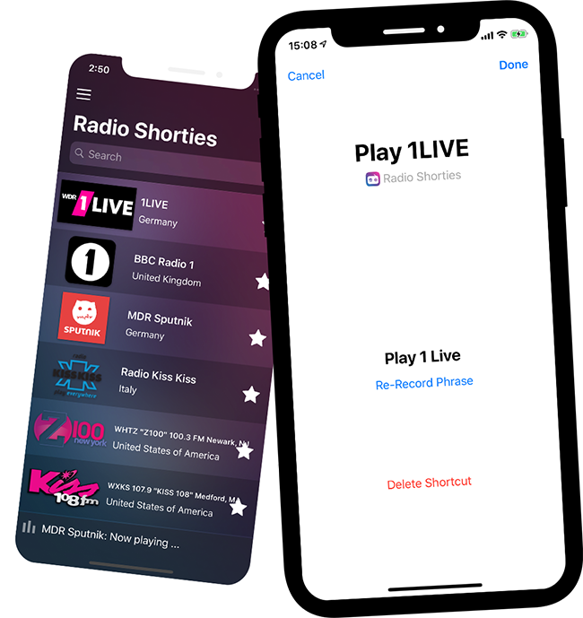 HomePod siri shortcut Radio